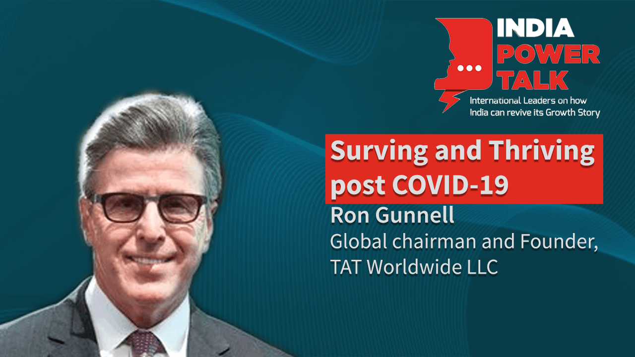 Excerpts of India Power Talk with Ron Gunnell, TAT Worldwide LLC