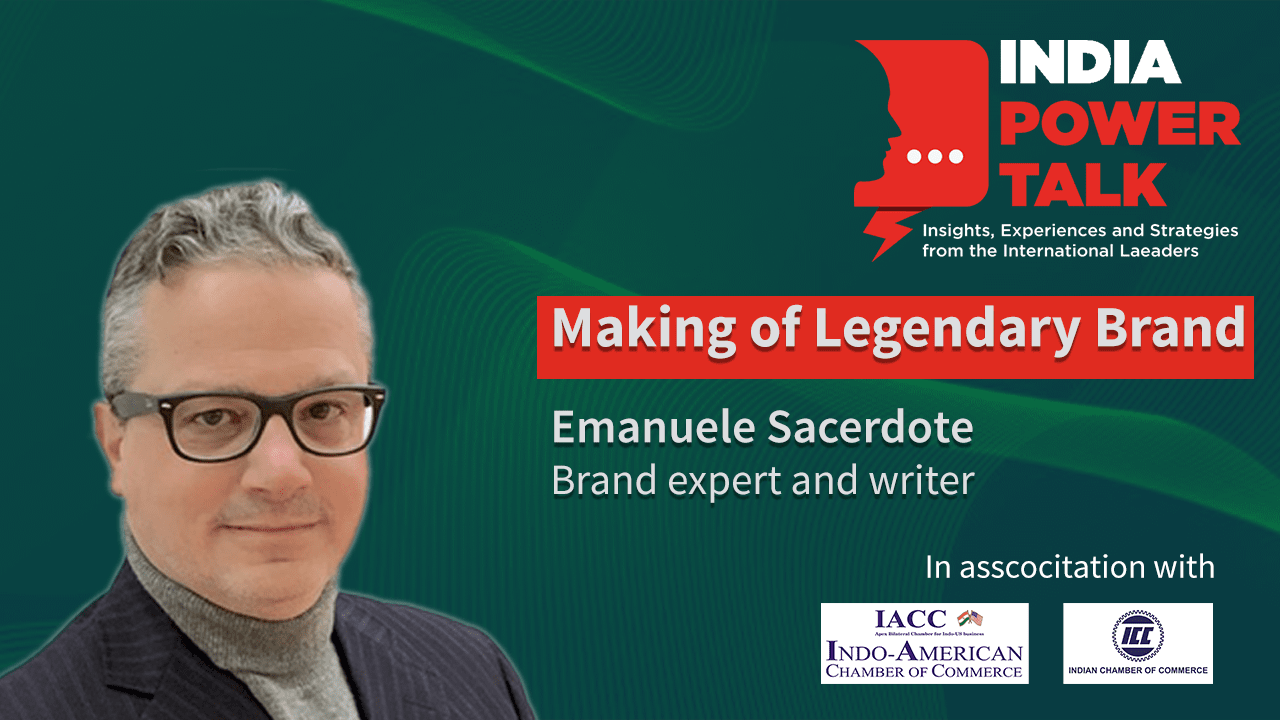 Excerpts of India Power Talk with Emanuele Sacerdote